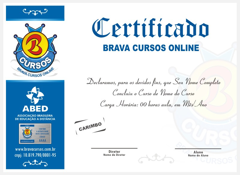 Curso online gratis certificado