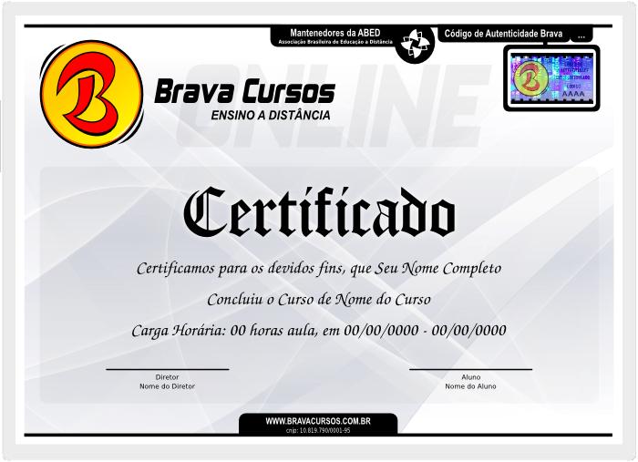 Veja o Tour do Certificado