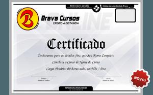 Certificado de Curso