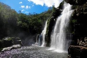 Cachoeiras Almcegas - Chapada dos Veadeiros